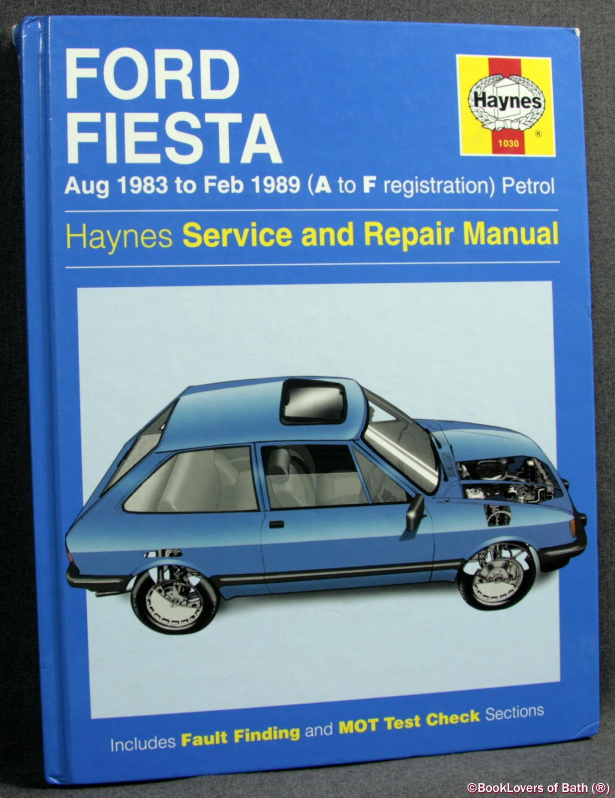 форд фиеста инструкция 1983