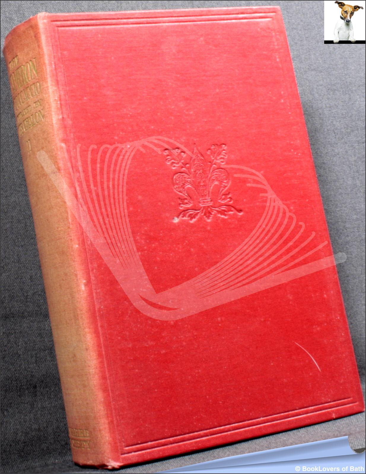 The Decameron of Giovanni Boccaccio Volume the Second - Giovanni Boccaccio