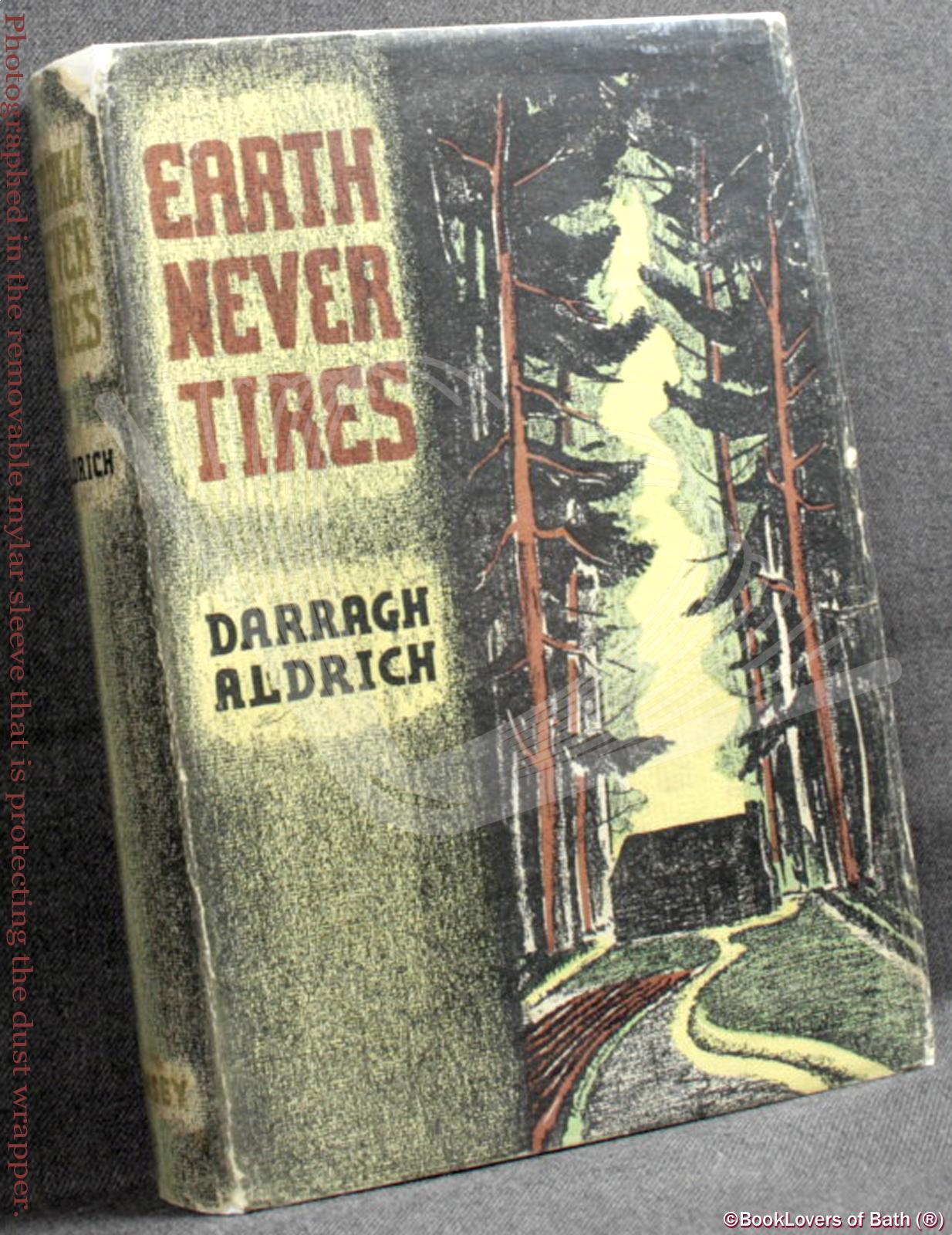 Earth-Never-Tires-Aldrich-1st-Signed-1936-HB-DJ