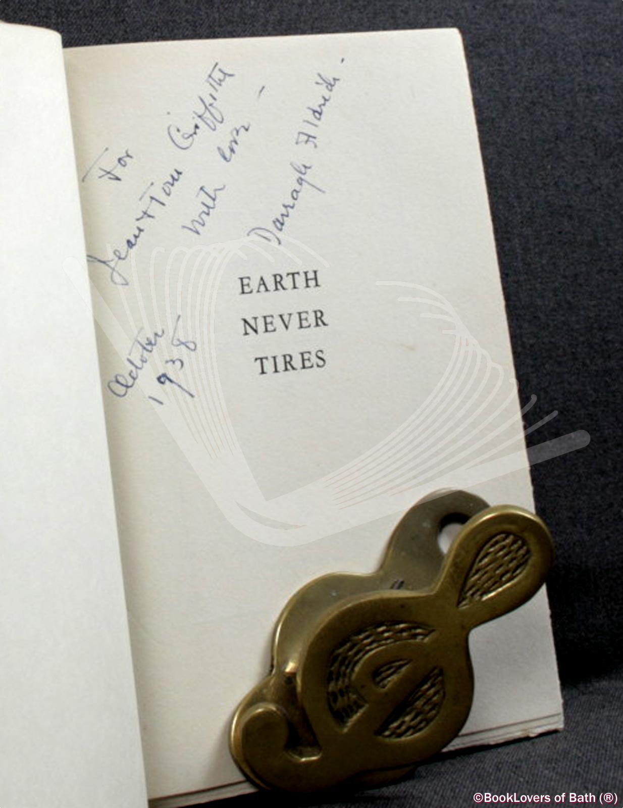 Earth-Never-Tires-Aldrich-1st-Signed-1936-HB-DJ thumbnail 3