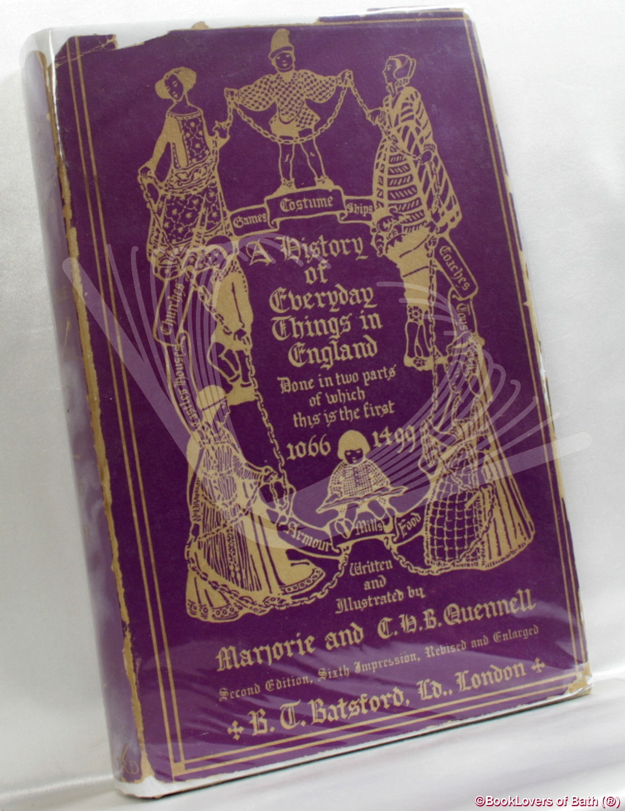 A History of Everyday Things in England 1066 - 1499 - Marjorie & C. H. B. Quennell