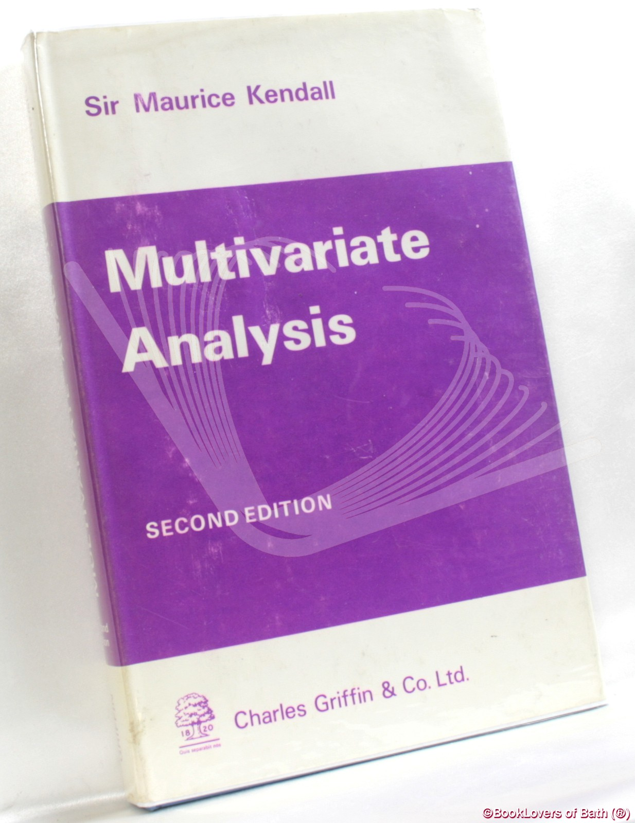 Multivariate Analysis - Sir Maurice Kendall