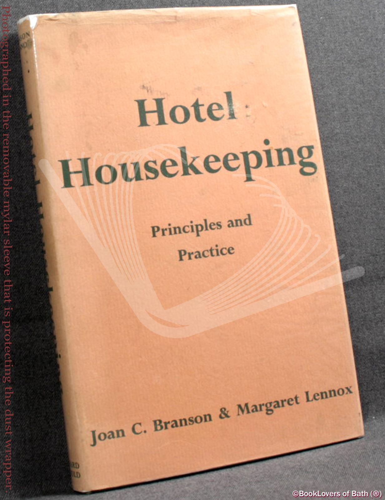 Hotel Housekeeping: Principles and Practice - Joan C Branson & Margaret Lennox