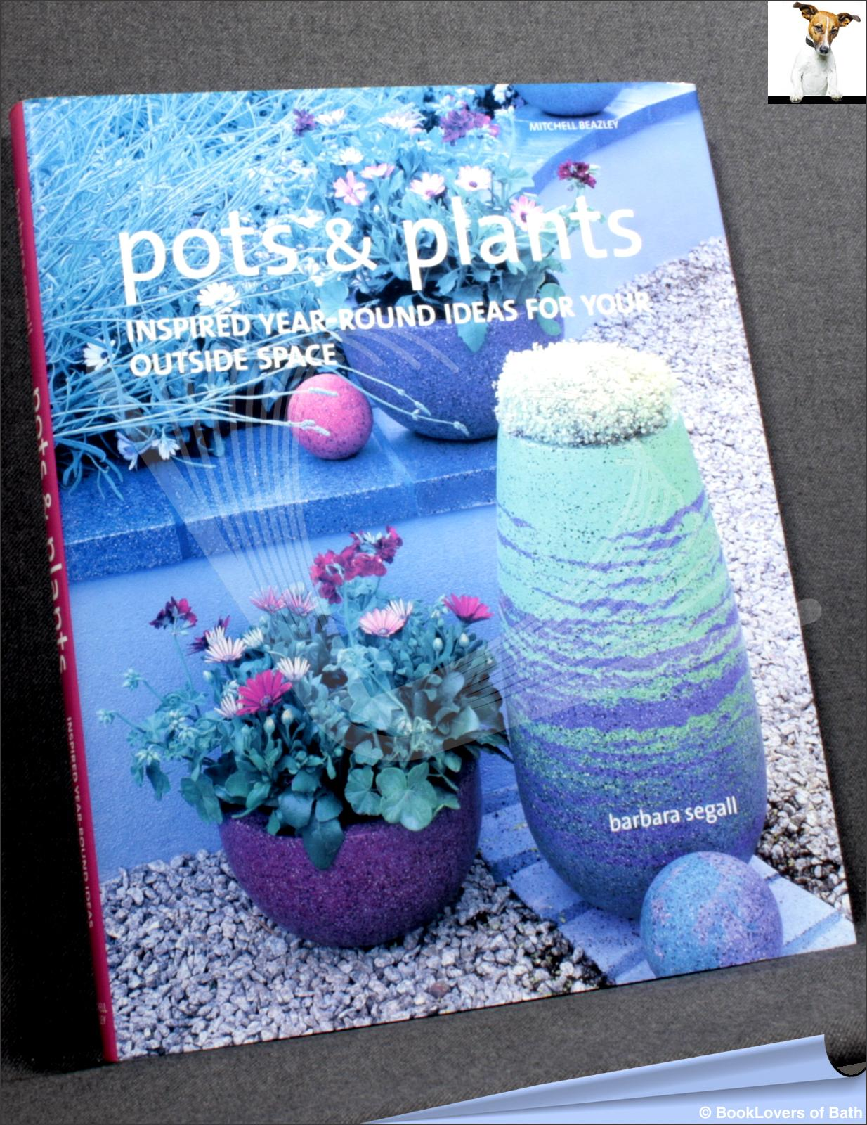 Pots & Plants: Inspired Year-round Ideas for Your Outside Space - Barbara Segall