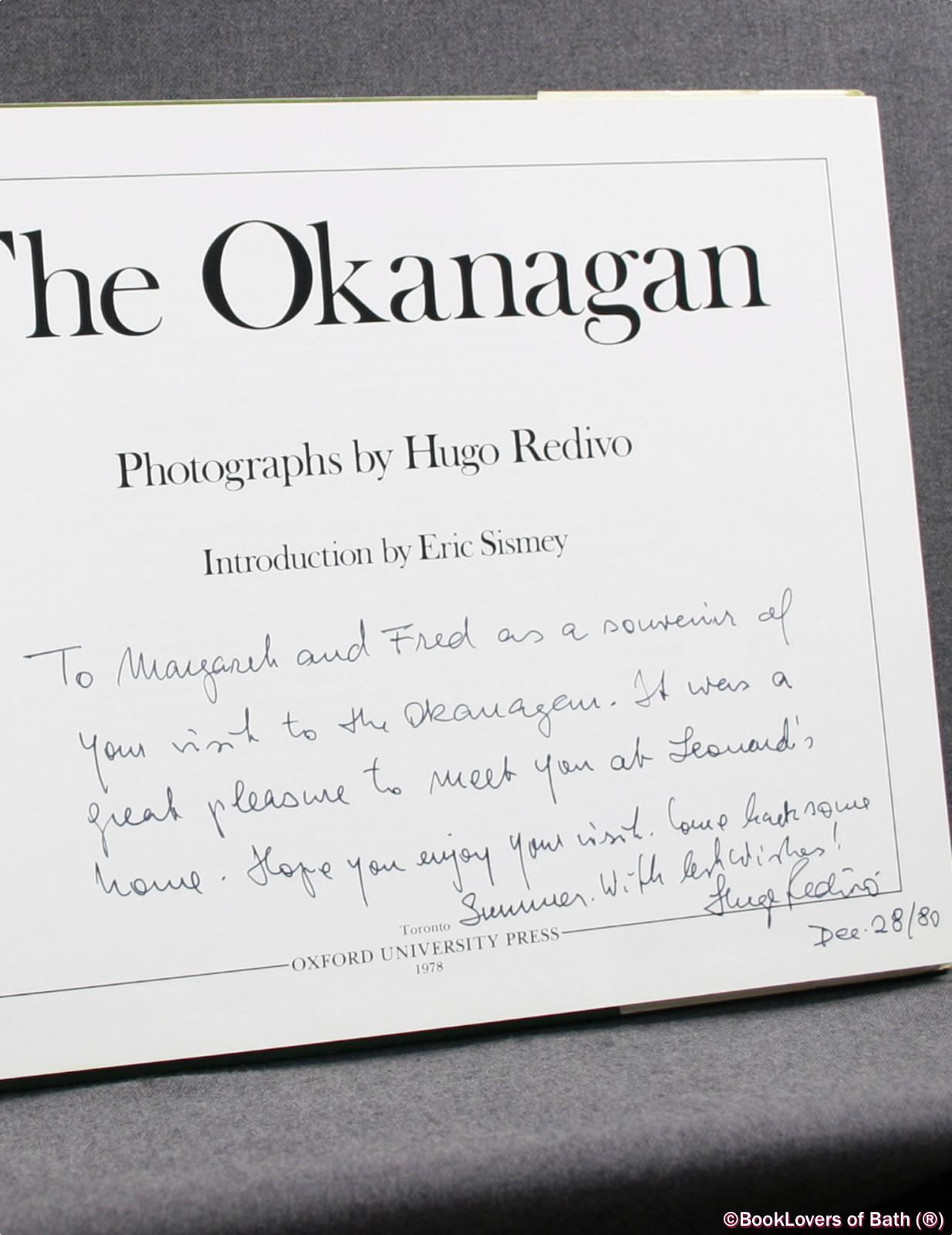 The Okanagan  Hugo Redivo