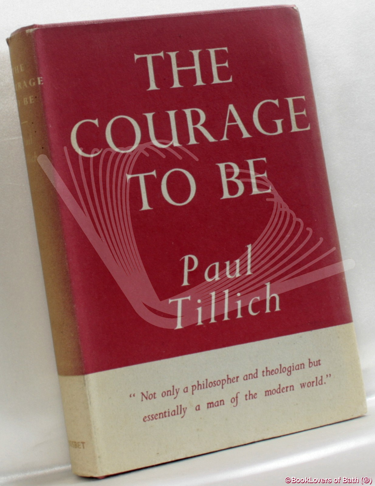 The Courage To Be - Paul Tillich