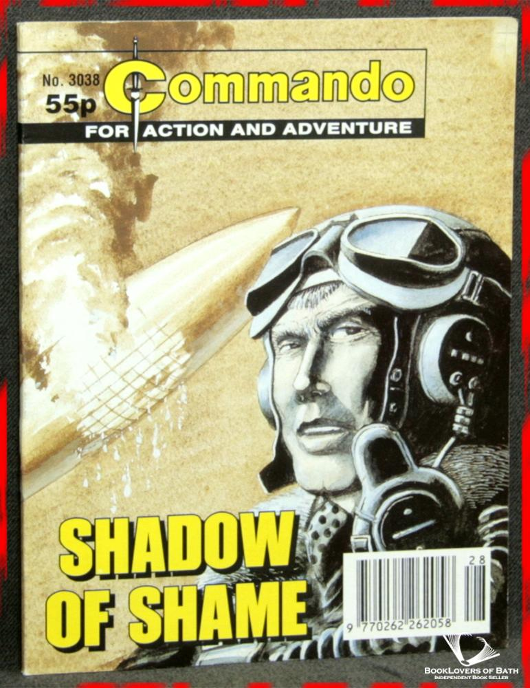 Commando For Action and Adventure No. 3038: Shadow of Shame - Anon.