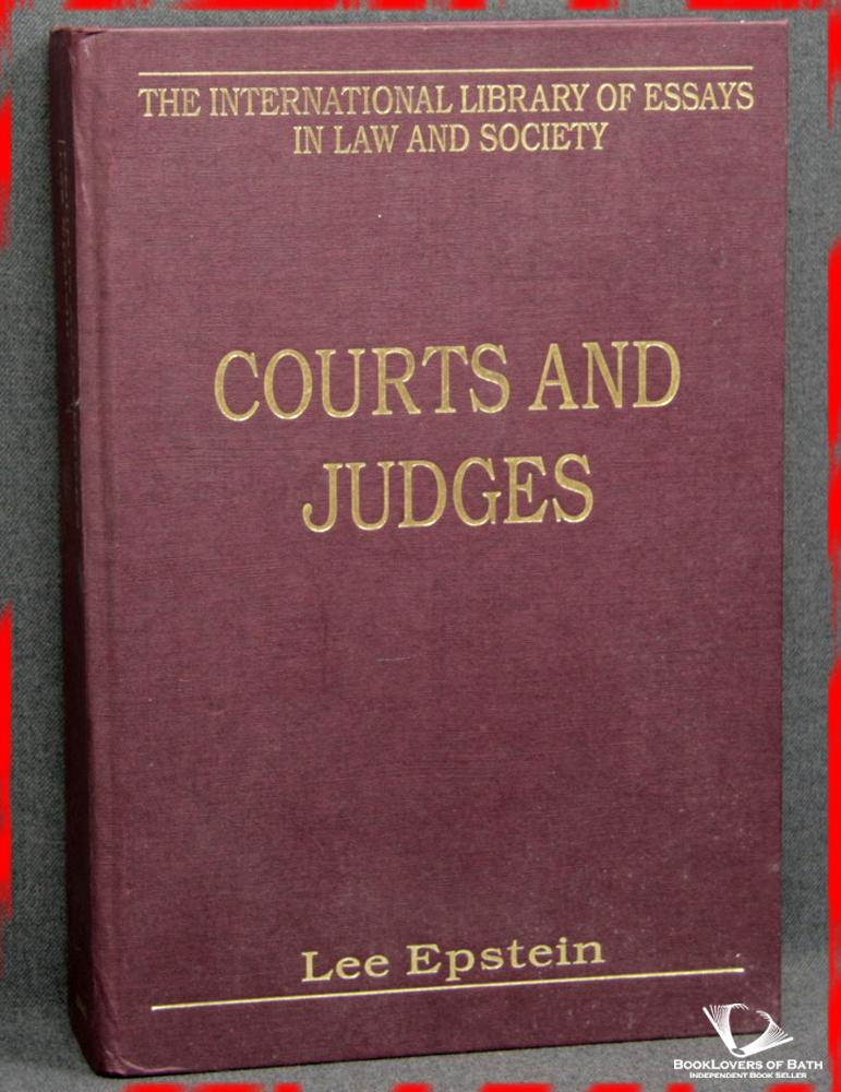 Courts And Judges - Lee Epstein