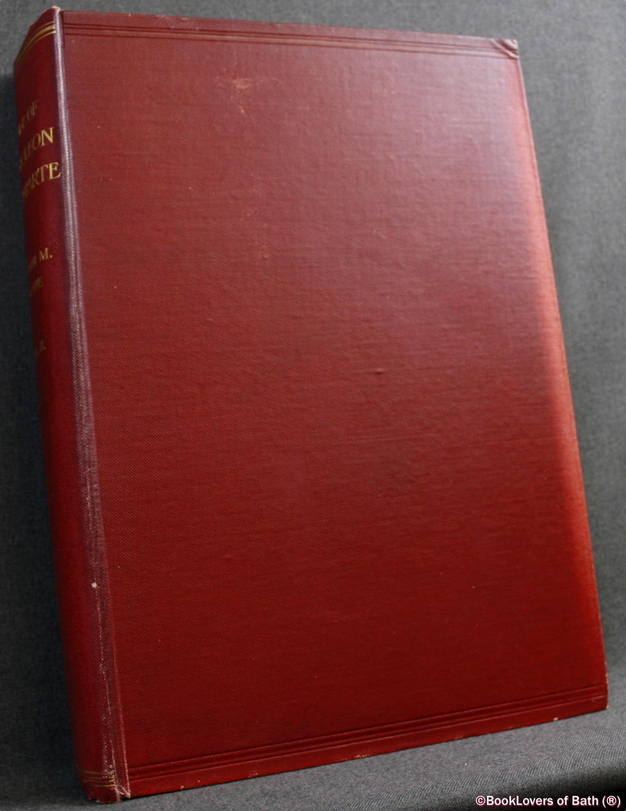 Life-of-Napoleon-Bonaparte-Sloane-1906-HB thumbnail 2
