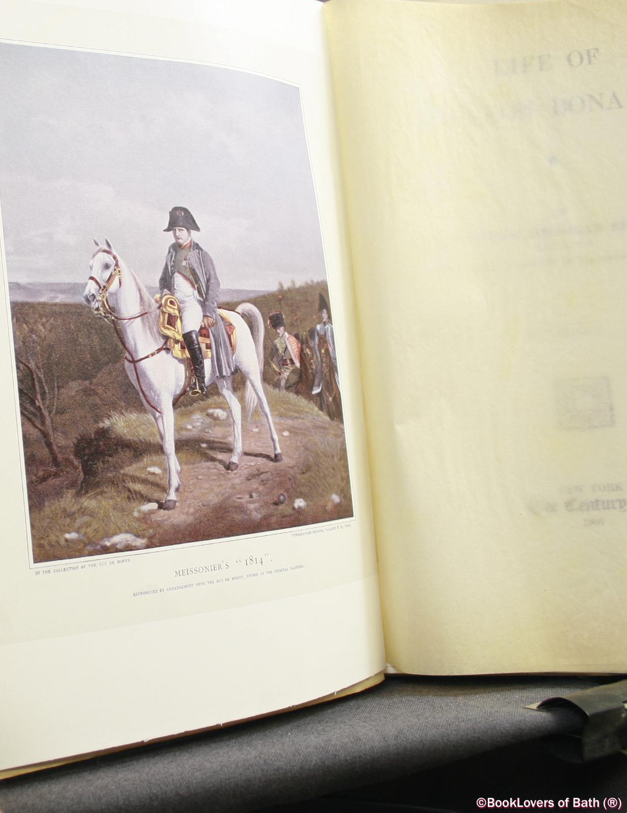 Life-of-Napoleon-Bonaparte-Sloane-1906-HB thumbnail 5