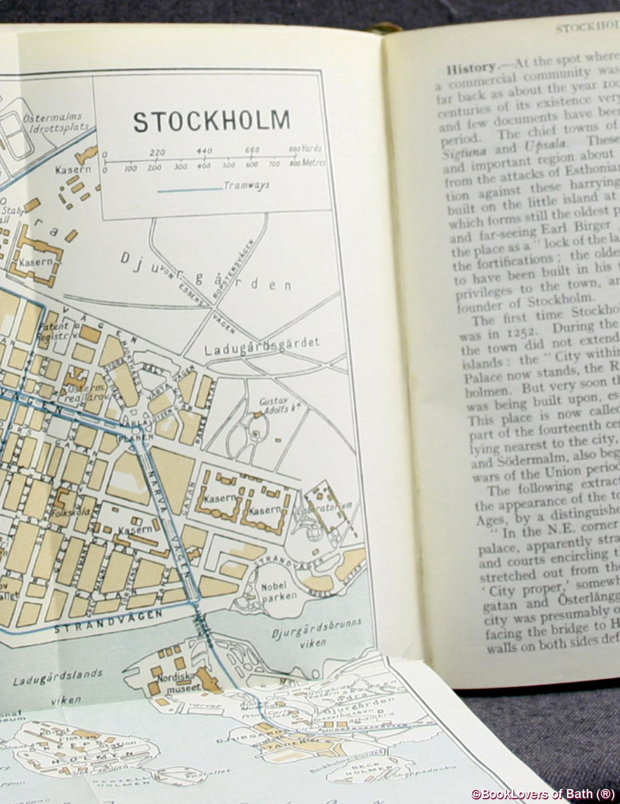 The Traveller's Handbook For Norway, Sweden And Denmark, Including Spitsbergen, Iceland And Other Arctic Islands with Maps, Plans and Vocabulary - Thomas Cook