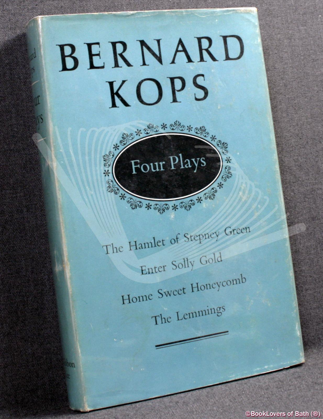 Four Plays - Bernard Kops