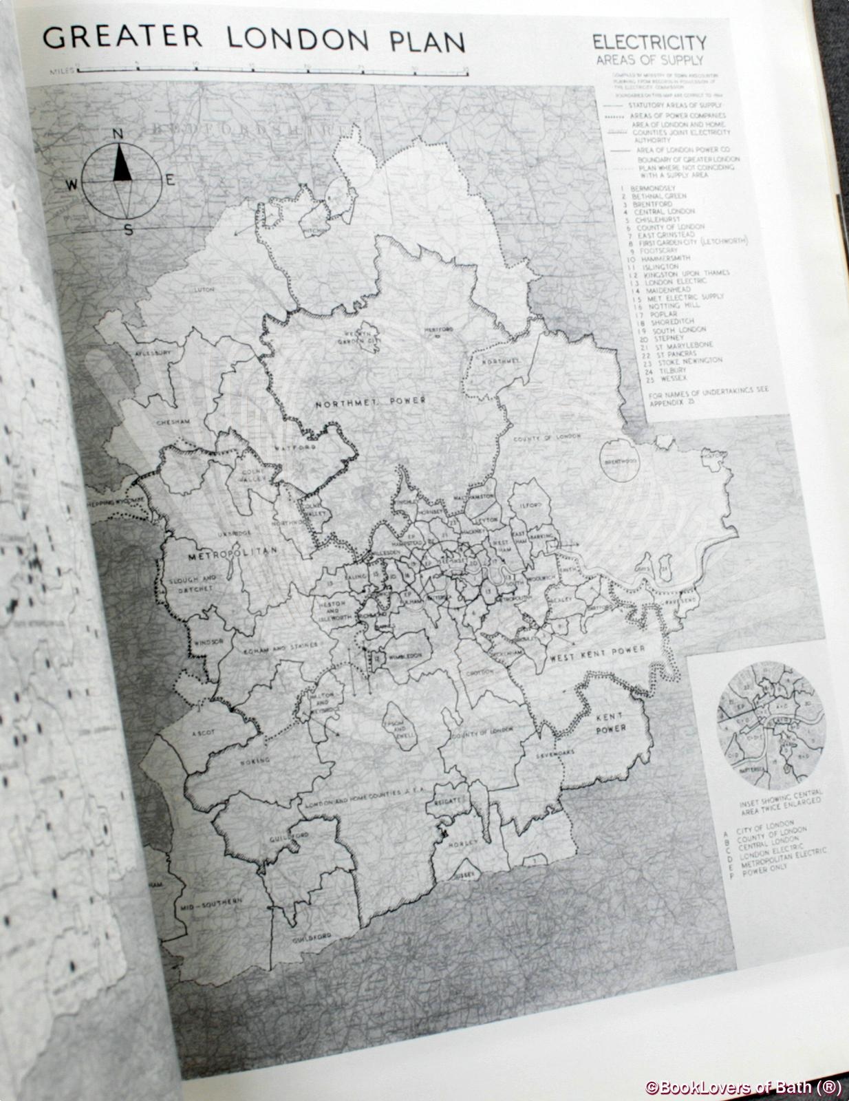 Greater London Plan 1944: A Report Prepared On Behalf of the Stan