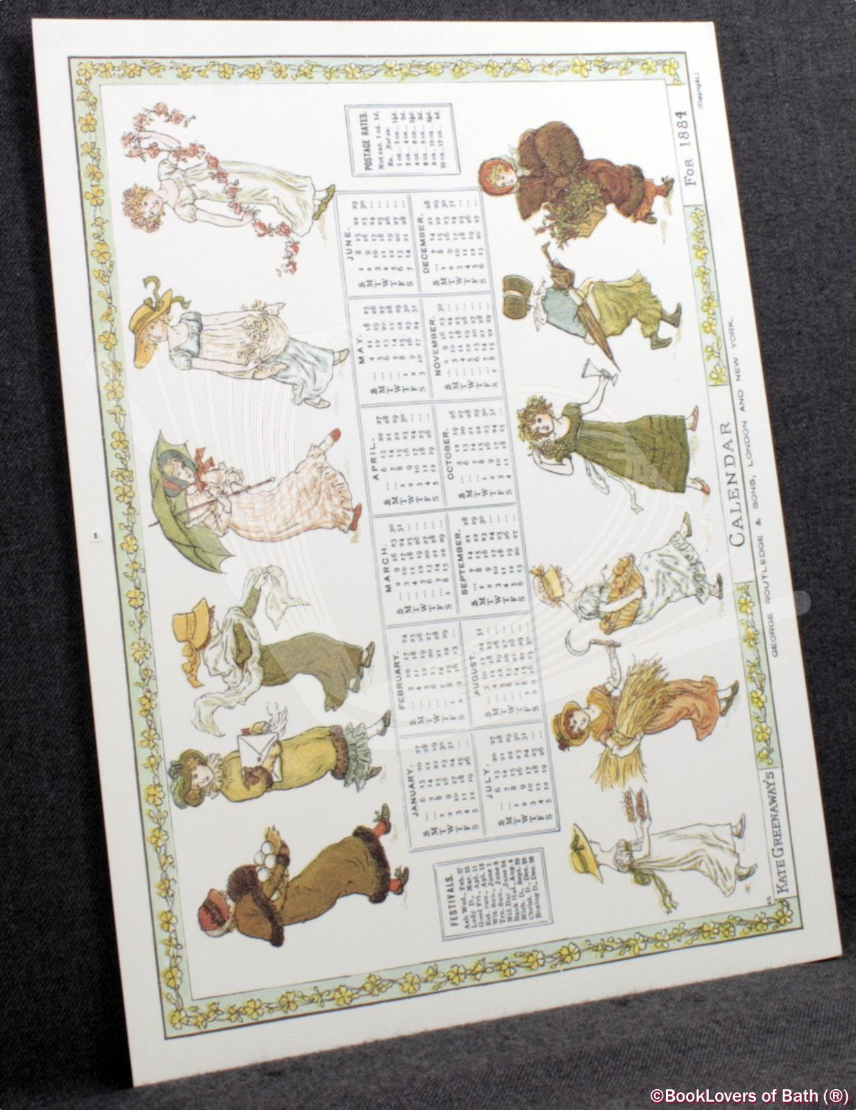Kate-Greenaway-039-s-Calendar-for-1884-Greenaway-1981 thumbnail 2