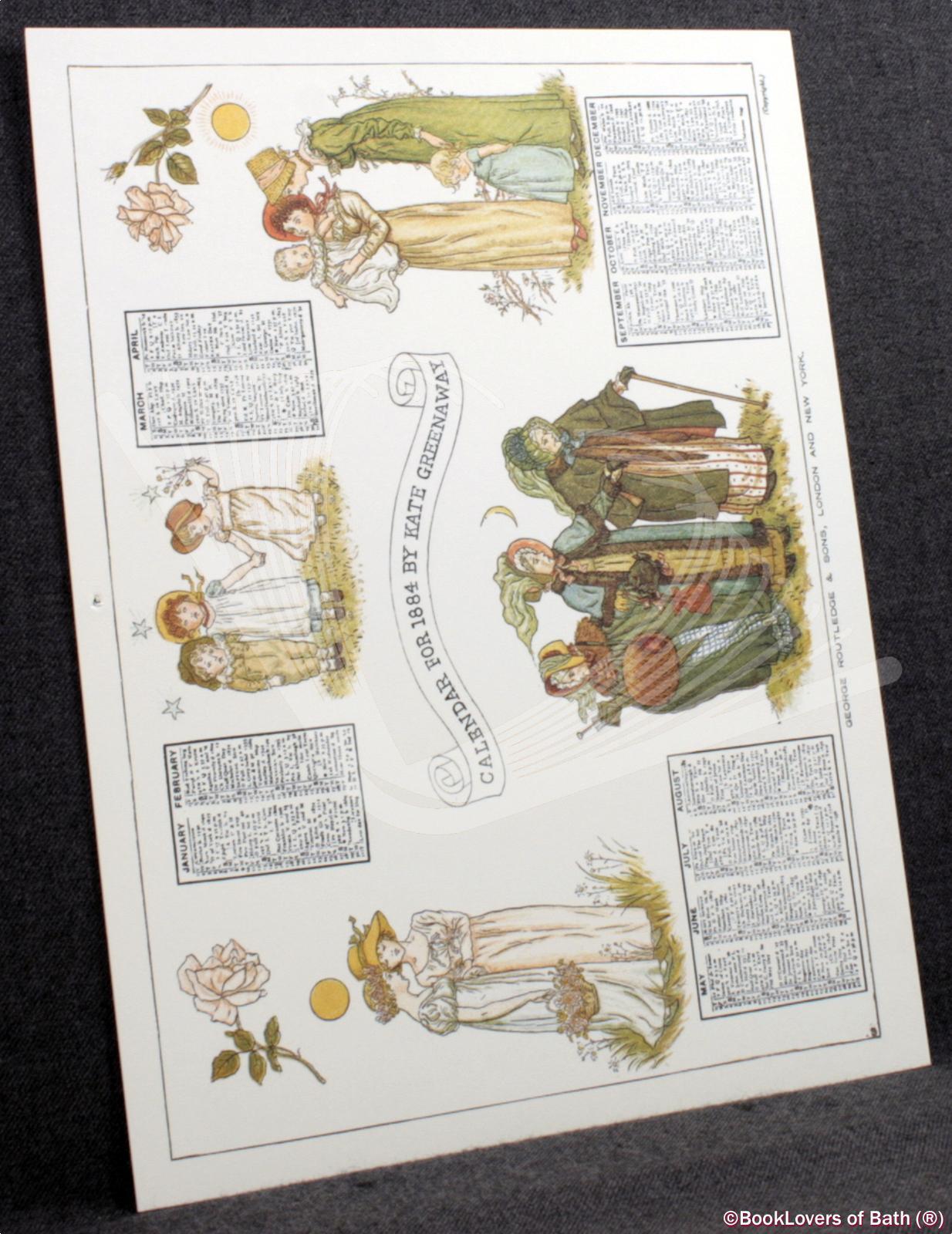 Kate-Greenaway-039-s-Calendar-for-1884-Greenaway-1981 thumbnail 3