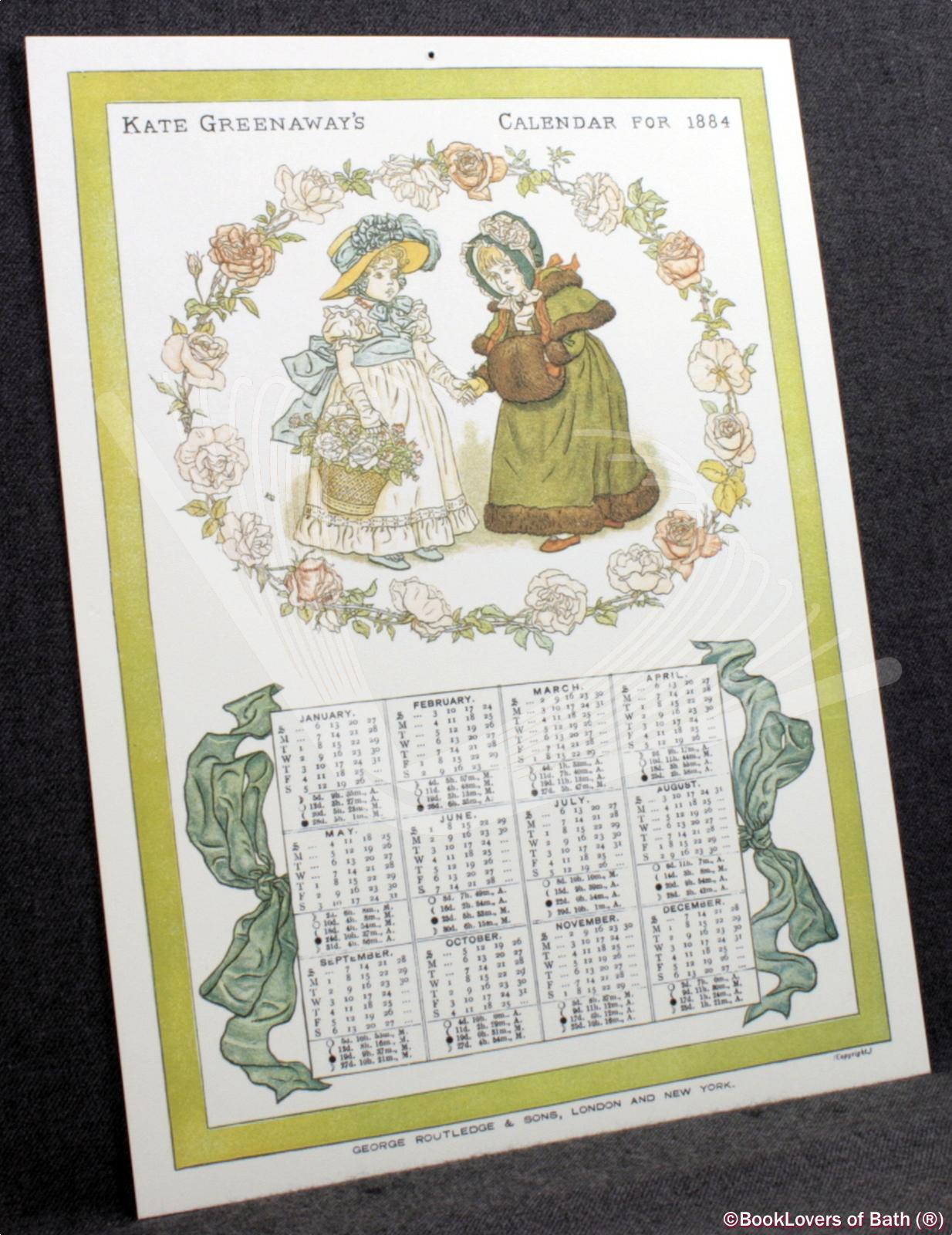 Kate-Greenaway-039-s-Calendar-for-1884-Greenaway-1981 thumbnail 4