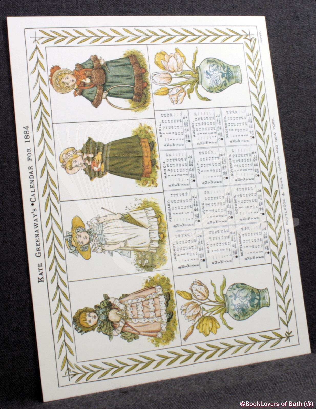 Kate-Greenaway-039-s-Calendar-for-1884-Greenaway-1981 thumbnail 5