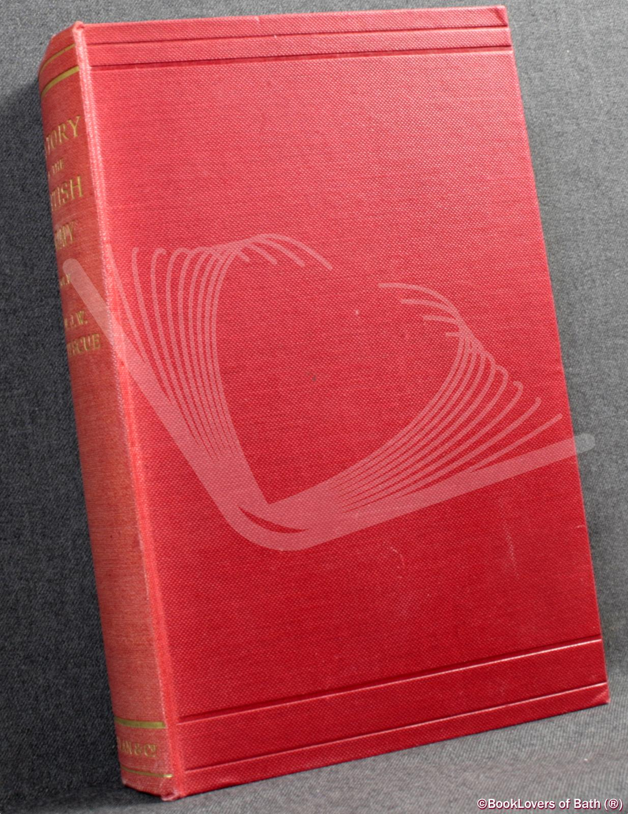 History-of-the-British-Army-Vol-V-Fortescue-1910-HB