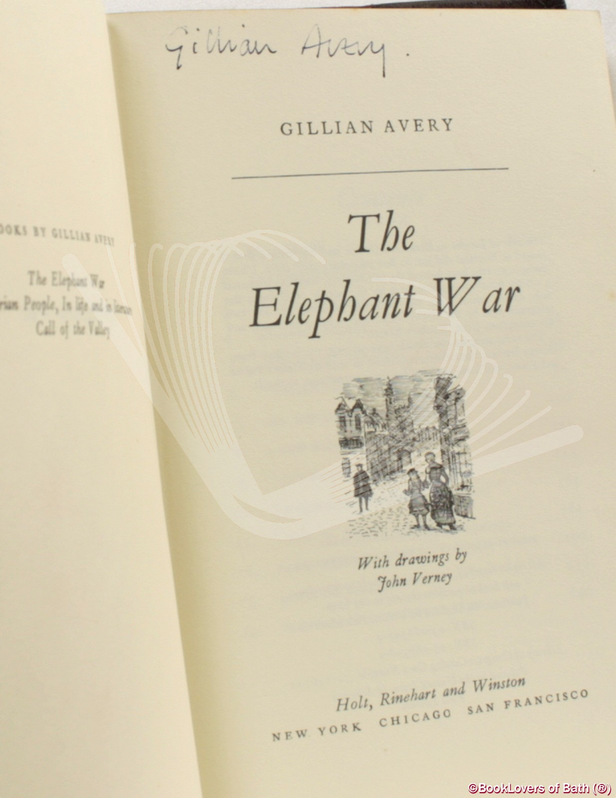 The Elephant War - Gillian Avery
