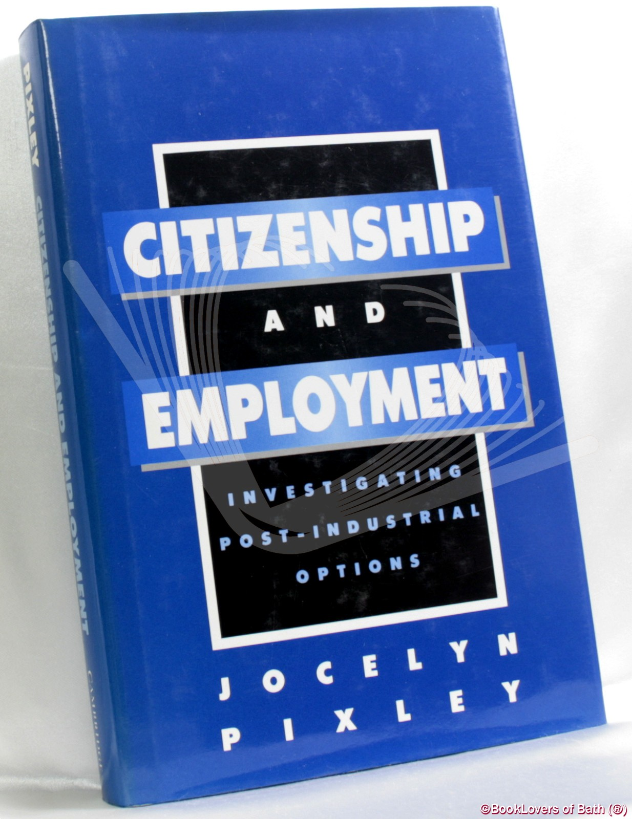 Citizenship and Employment: Investigating Post-industrial Options - Jocelyn Pixley