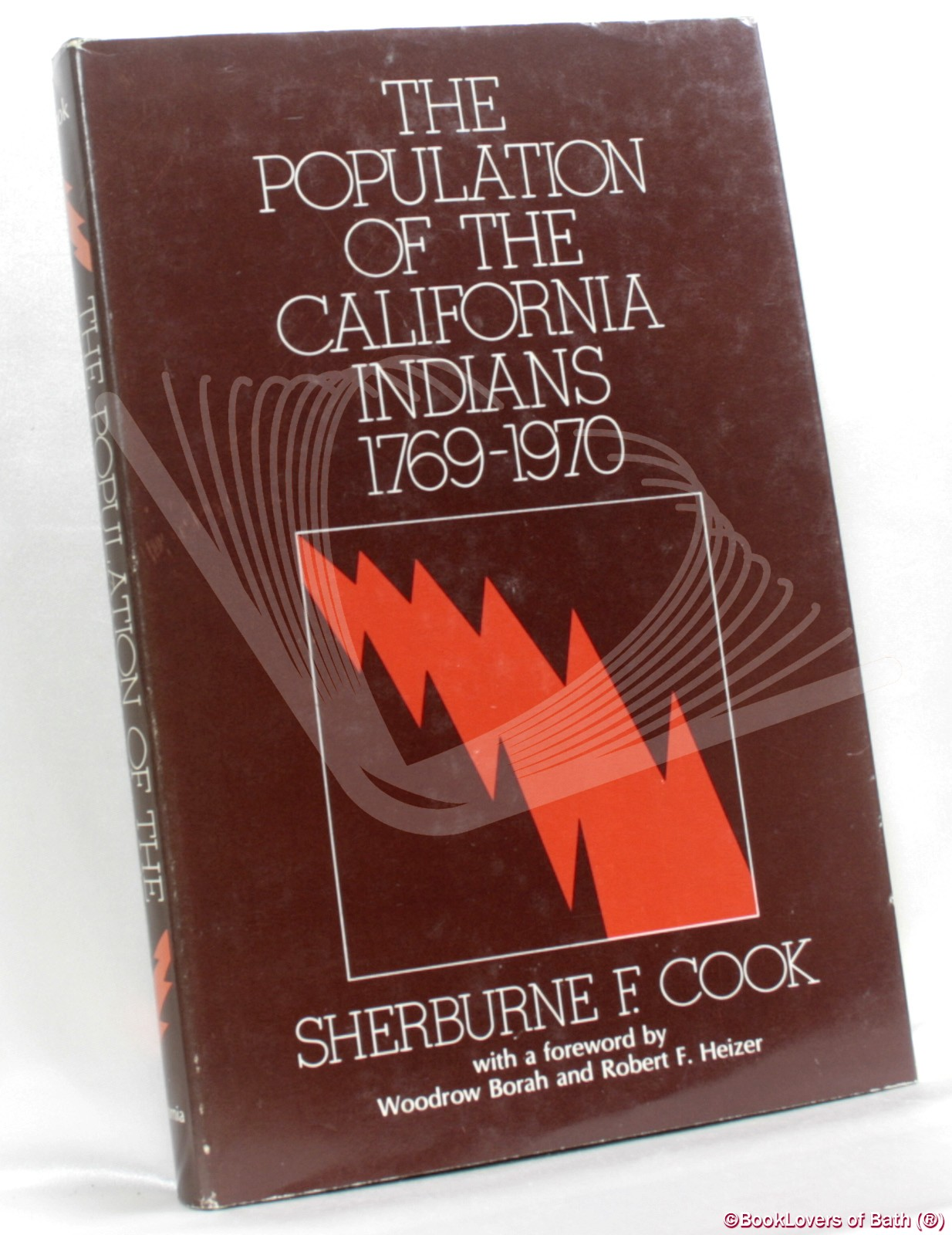 The Population of the California Indians 1769-1970 - Sherburne F. Cook
