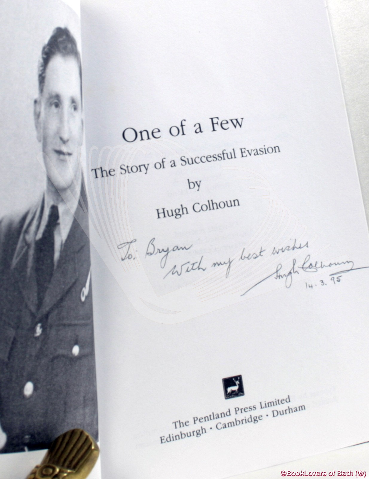 One of a Few: The Story of a Successful Evasion - Hugh Colhoun