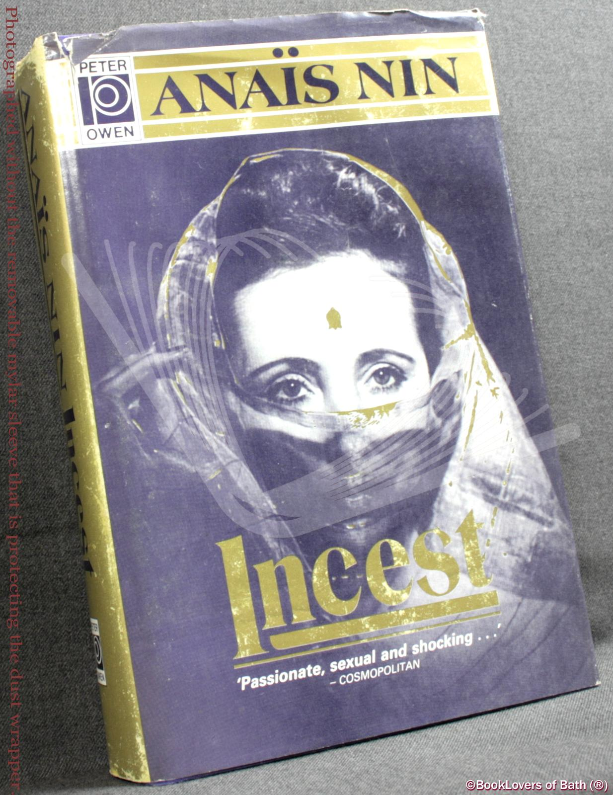 Incest: From a Journal of Love: The Unexpurgated Diary of Anais Nin - Anais Nin