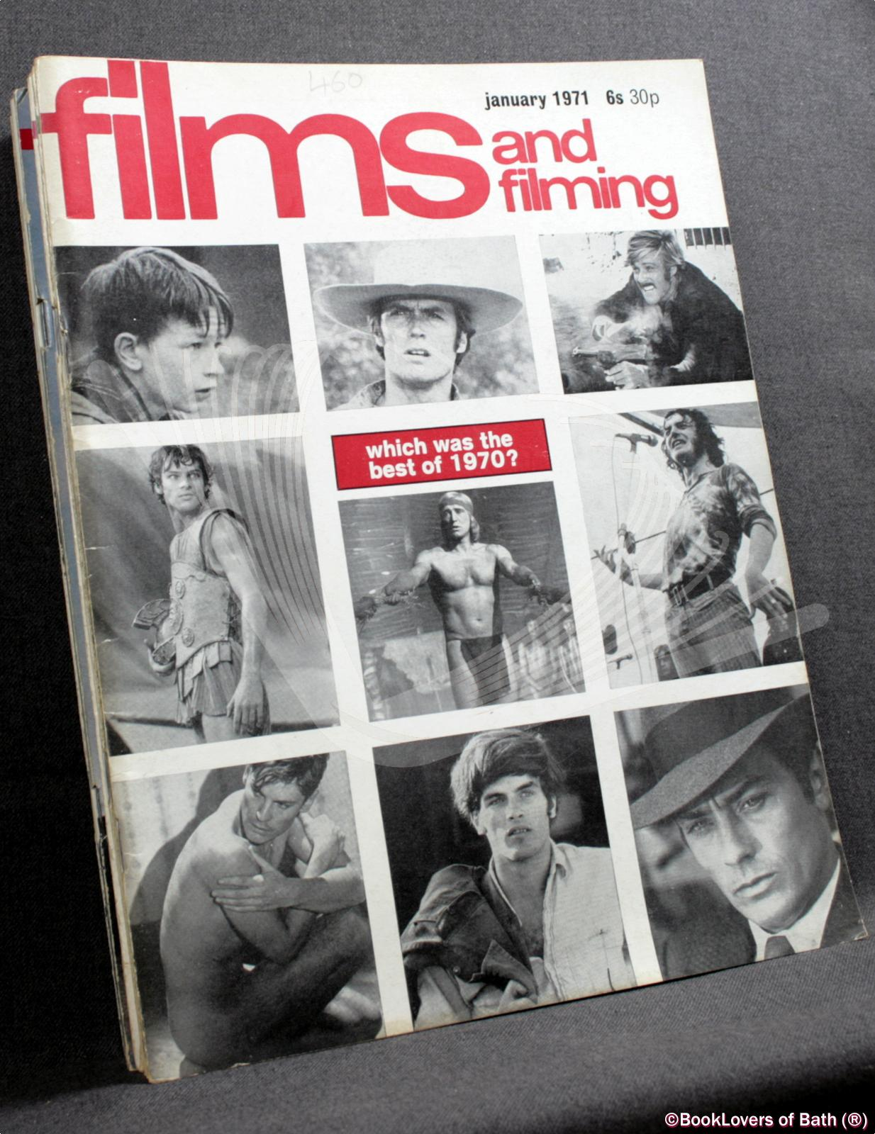 Films and Filming January 1971 Volume 17 Number 4 to October 1971 Volume 18 Number 1 - Edited by Peter Baker