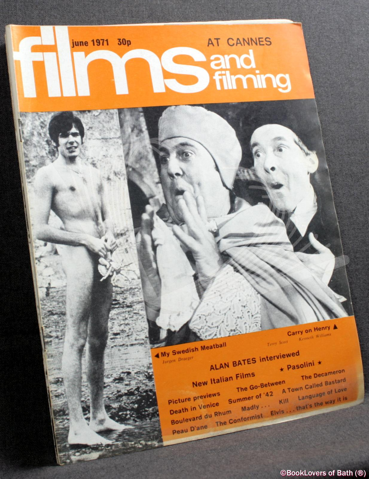 Films and Filming January 1971 Volume 17 Number 4 to October 1971