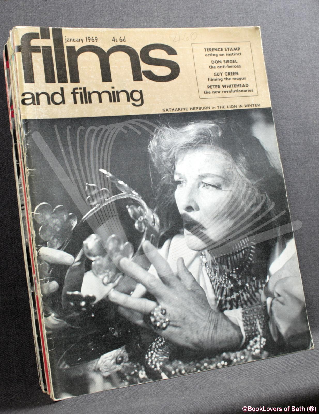 Films and Filming January 1969 Volume Fifteen Number Four to December Volume Sixteen Number Three - Edited by Robin Bean