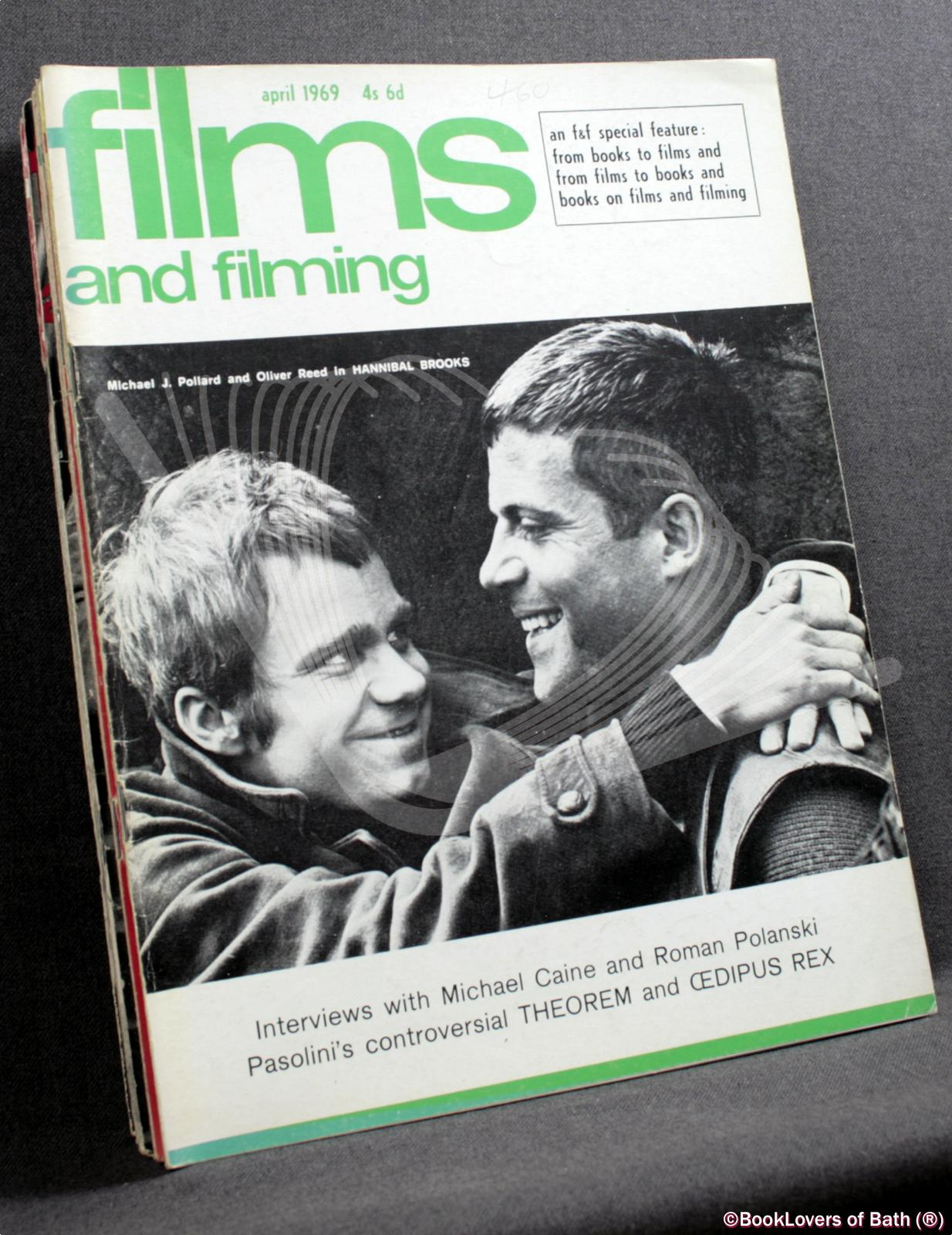 Films and Filming January 1969 Volume Fifteen Number Four to Dece