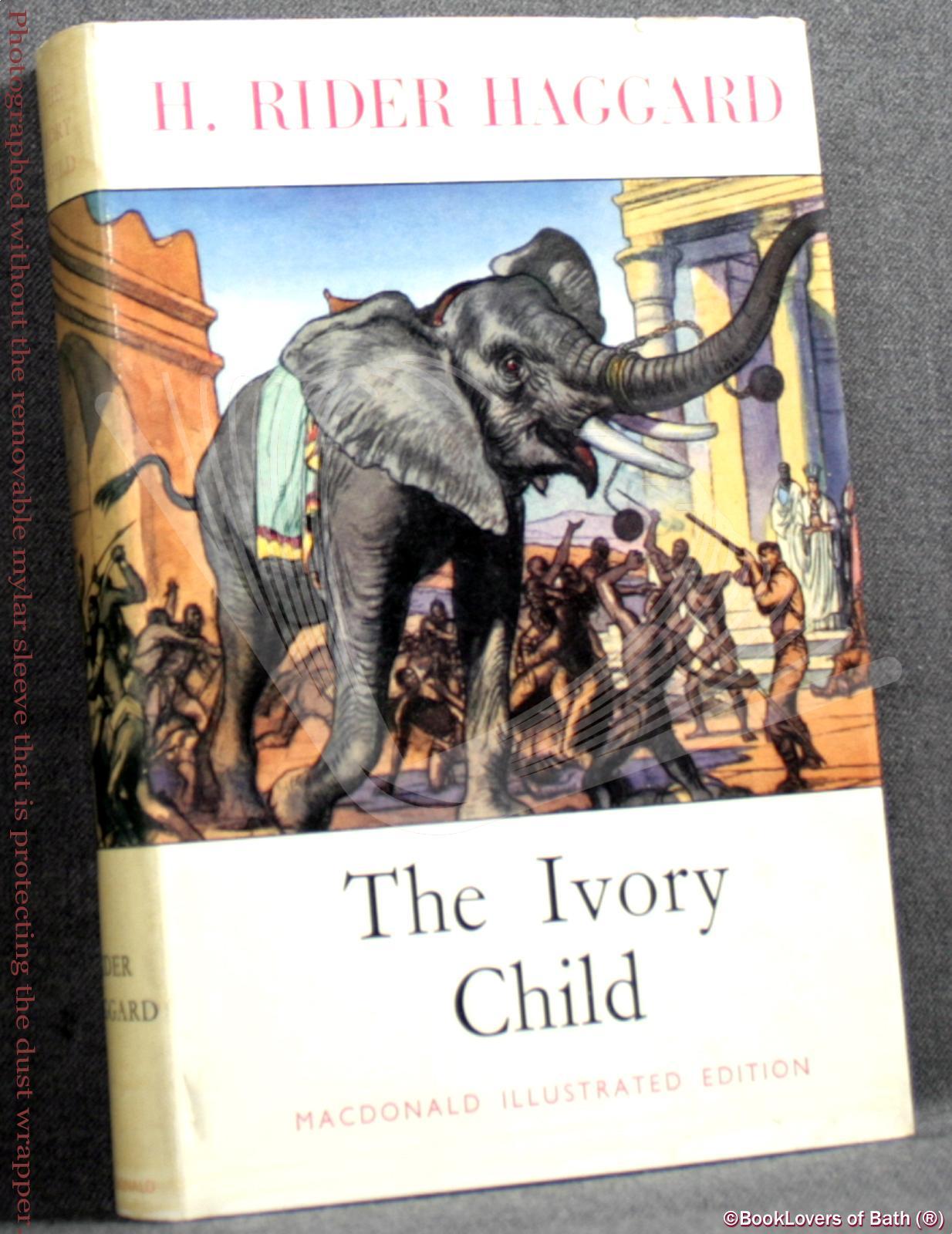 Ivory-Child-Haggard-1958-HB-DJ