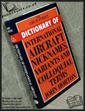 The Grub Street Dictionary of International Aircraft Nicknames, V