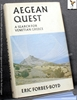 Aegean Quest: A Search for Venetian Greece Eric Forbes-Boyd