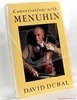 Conversations with Menuhin: A Celebration on His 75th Birthday Da