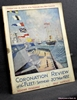 Programme of the Coronation Review of the Fleet by His Majesty the King Spithead 20th May 1937 with Plan of Anchorage